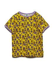 T-shirt SS. Flowers - YELLOW