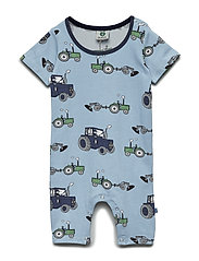 Body Suit SS/SL. Tractor - SKY BLUE
