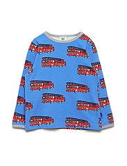 T-shirt LS. Fire truck - BLUE LOLITE