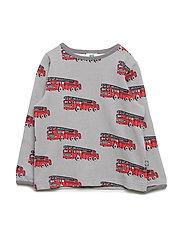 T-shirt LS. Fire truck - WILDE DOVE