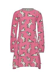 Dress LS. Unicorn - RAPTURE ROSE