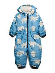 Baby Wintersuit. Bear - WINTER BLUE