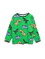 T-shirt med dinosaurus - APPLE GREEN