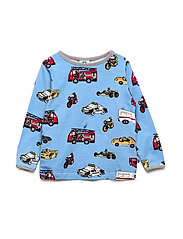 T-shirt LS. Cars - WINTER BLUE