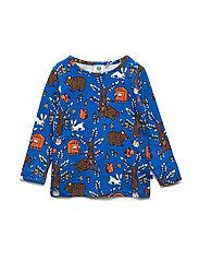 T-shirt LS. Landscape - BLUE LOLITE