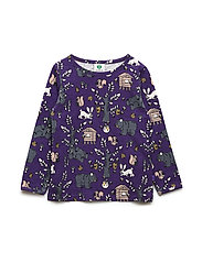 T-shirt LS. Landscape - IMPERIAL PURPLE