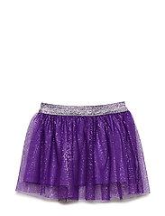 Skirt. Tulle. Solid - PURPLE HEART