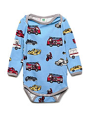 Småfolk Body LS. Cars - WINTER BLUE