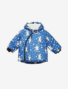 Baby Winter jacket - BLUE LOLITE