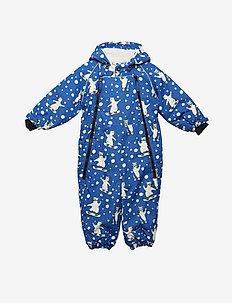 Snowsuit 2 zipper - BLUE LOLITE