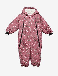 Snowsuit 2 zipper - RAPTURE ROSE