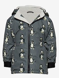 Winter Jacket Girl - STEEL GREY