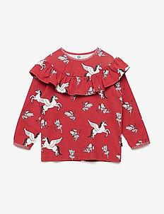 T-shirt LS. Fairy - DARK RED