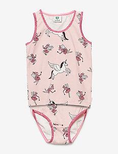 Underwear girl. Fairy - underwear sets - silver pink