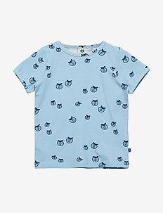 T-shirt SS. Apple. Originals. - korte mouwen - air blue