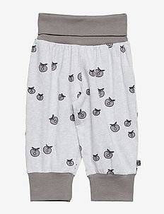 Baby pants Waistband. Apple. Originals. - LT. GREY MIX