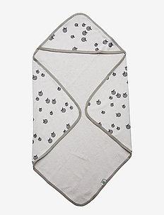 Baby Towels, Apple. Originals. - LT. GREY MIX