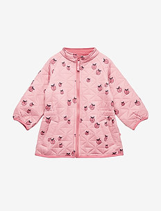 Thermo jacket. Girl. Apple. - SEA PINK