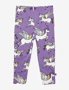 Leggings. Unicorn - PURPLE HEART