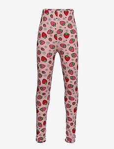Leggings. Strawberry - SILVER PINK