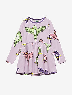 Dress LS. Parrot - LAVENDER