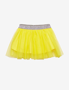 Skirt. Tulle. Solid - YELLOW