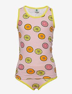 Underwear Girl. Fruits - SILVER PINK