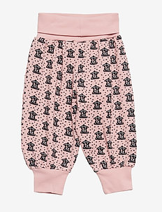 Baby pants Waistband. Kenzie's carousel - SILVER PINK