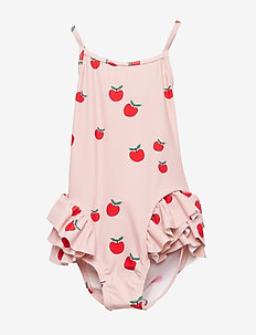 Swimwear, Suit. Apple - SILVER PINK