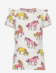 T-shirt SS. Unicorn - CREAM