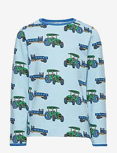 T-shirt LS. Tractor - AIR BLUE