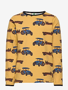 T-shirt LS. Tractor - OCHRE