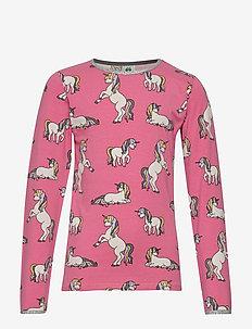 T-shirt LS. Unicorn - RAPTURE ROSE