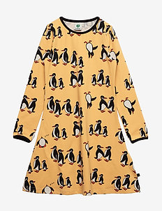 Dress LS. Penguin - OCHRE
