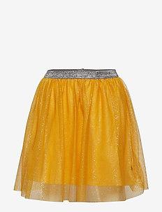 Skirt. Tulle. Solid - OCHRE