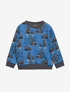 Sweatshirt. Machines - WINTER BLUE
