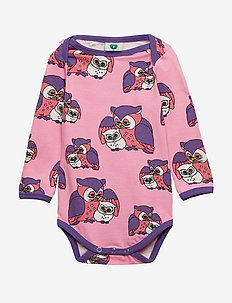 Body LS. Owl - SEA PINK