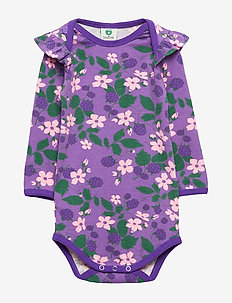 Body LS. Flowers - PURPLE HEART