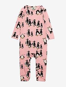 Body Suit, Penguin - CORAL BLUSH