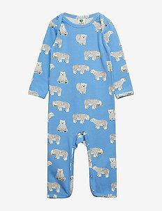 Body Suit, Polar Bear - WINTER BLUE