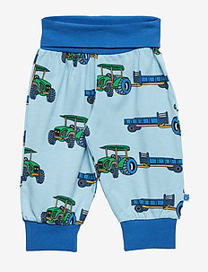 Baby pants Waistband. Tractor - AIR BLUE