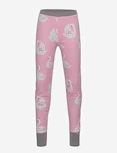 Pants. Woolmix. Swan - WINTER PINK