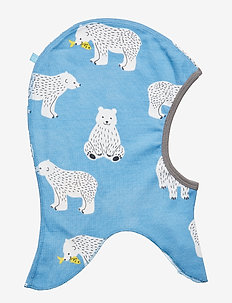 Elephant Hood WoolMix. Bear - WINTER BLUE