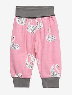 Baby Pants Woolmix. Swan - WINTER PINK
