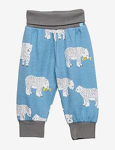 Baby Pants Woolmix. Bear - WINTER BLUE