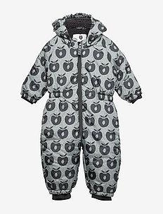 Baby Wintersuit. Apple - B. GREY