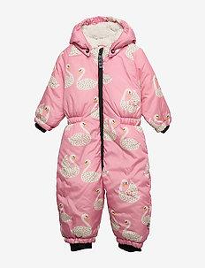 Baby Wintersuit. Swan - WINTER PINK