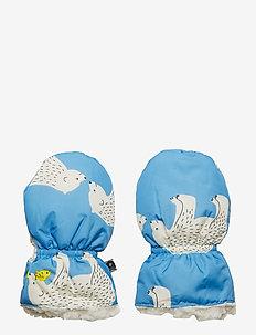 Mittens. Bear - WINTER BLUE