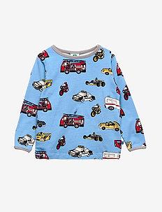T-shirt LS. Cars - WINTER BLUE