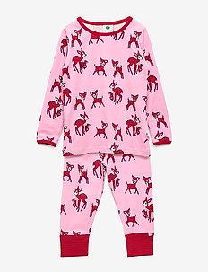 Nightwear. Deer - SEA PINK